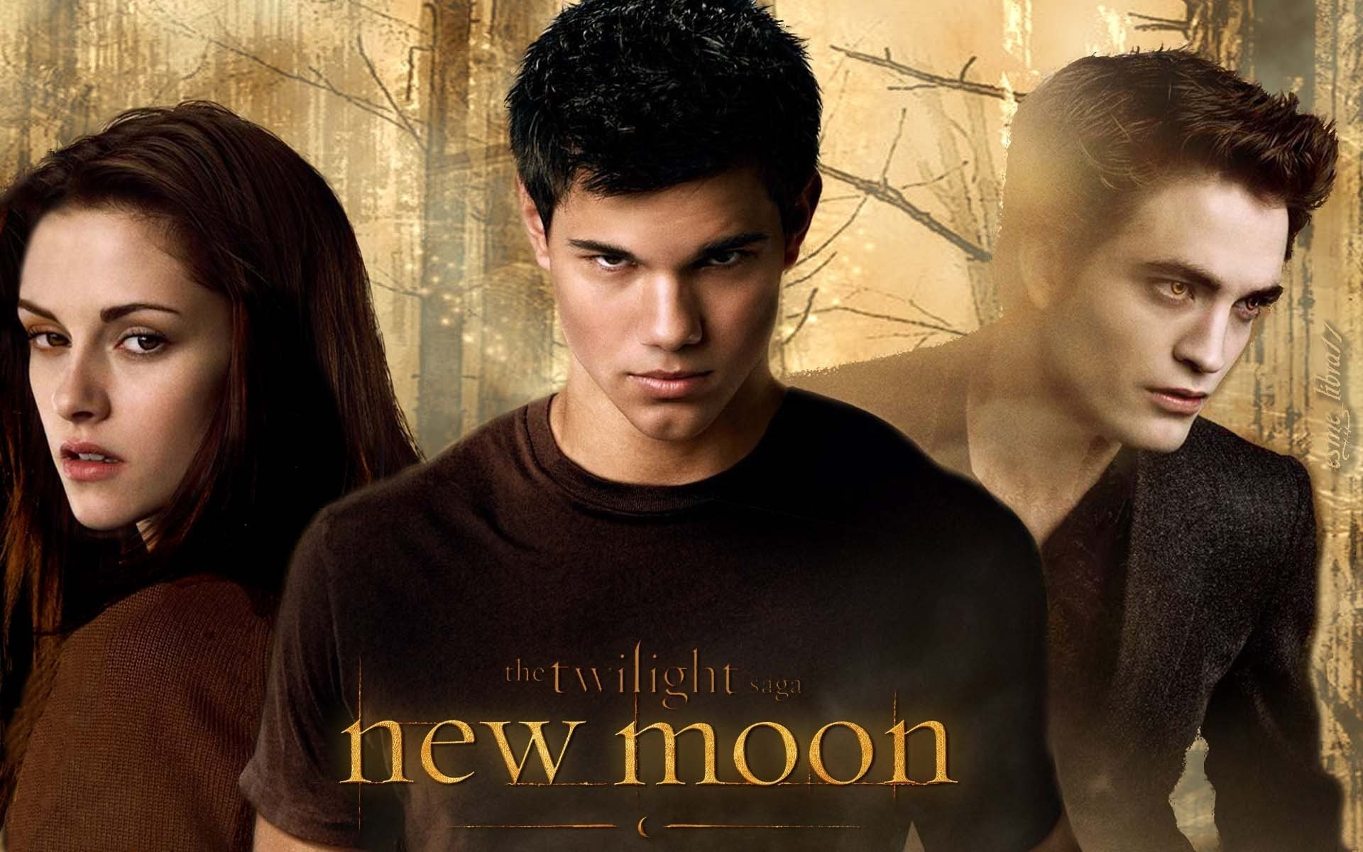 bella-Jacob-and-Edward-New-Moon-Wallpaper-twilight-series-7430198-1920-1200 - сумреки обои