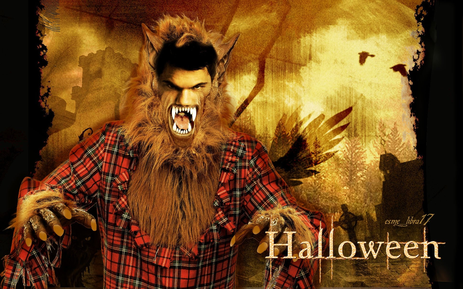happy-halloween-twilight-cast-twilight-series-8815747-1920-1200 - сумреки обои